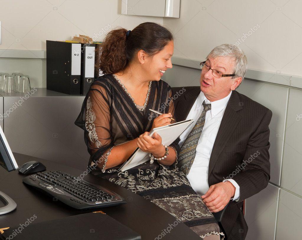 Шеф и секретарь 14 фотография