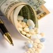 Stock Photo: Expensive prescriptions