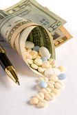 Expensive prescriptions — Stock Photo