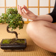 Serenity and meditation — Stock Photo