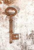 Rusty key — Stok fotoğraf