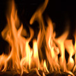 Royalty-Free Stock Photo: Big fire