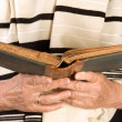 Jewish prayer - Stock Photo
