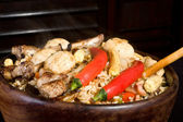 Great pilaf — Stock Photo