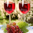 Wine for two — Stock Photo