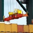 Stock Photo: Containers to be shipped