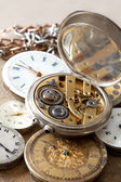 Stack of watches — Stock Photo