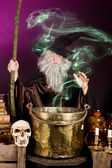 Sorcerer's ghost — Stock Photo