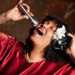 Stock Photo: Negro spiritual singer