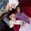 Serving tea for the Lady — Stock Photo #9138875