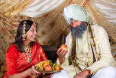 Fruit for the Maharaja — Stock Photo