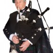 Formal bagpiper — Stock Photo #9180902