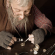 Vintage watch-maker — Stock Photo