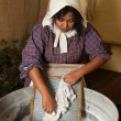 Victorian laundry — Stock Photo