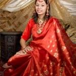 Indian portrait — Stock Photo