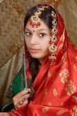 Indian saree — Stock Photo