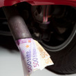 Stockfoto: Expensive fuel