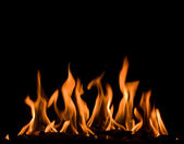 Fiery fire — Stock Photo