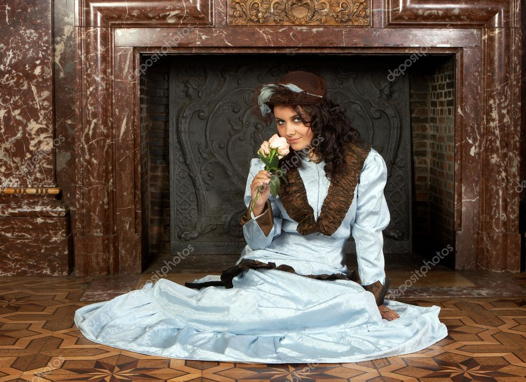 Victorian beauty — Stock Photo © Klanneke #