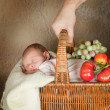 Stock Photo: Baby shopping