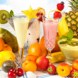 Stock Photo: Healthy smoothies for diet