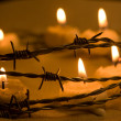 Candles for freedom — Stock Photo