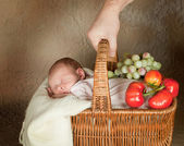 Baby shopping — Stock Photo