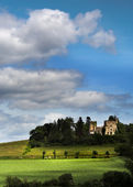 Franska slott — Stockfoto