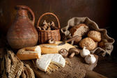 Rustic food — Stock Photo