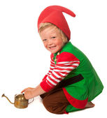 Little garden gnome — Stock Photo