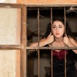 Prison sadness — Stock Photo