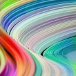 Royalty-Free Stock Photo: Rainbow waves