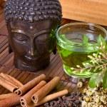 Herbs for buddha — Stock Photo