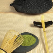 Royalty-Free Stock Photo: Zen tea on tatami