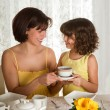 Coffee for mommy — Stock Photo