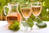 French rose wine — Stock Photo