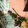 Pink provence house — Stock Photo