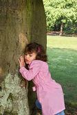 árbol escuchando — Foto de Stock