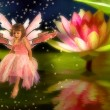 Pond Fairy — Stock Photo