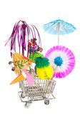 Party shopping — Stock Photo