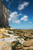 Kayalık plaj — Stok fotoğraf