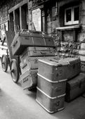 Old Luggage Cases — Stock Photo