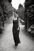 Elegante dama — Foto de Stock
