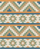 Seamless pattern in navajo style — Stock Vector