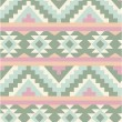 Stock Vector: Seamless pattern in navajo style 2
