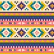 Seamless aztec pattern — Stock Vector