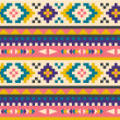 Seamless aztec pattern — Stock Vector #10379188