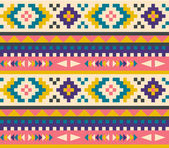 Seamless aztec pattern — Stockvektor