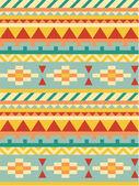Bright aztec pattern — Stock Vector