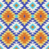 Modèle sans couture ethnique — Vecteur